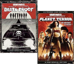 Death Proof / Planet Terror (Extended And Unrated - 2 Disc) - Grindhouse Presents (2 Pack) (Boxset)