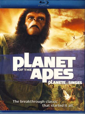 Planet of the Apes (Blu-ray) (Bilingual) BLU-RAY Movie
