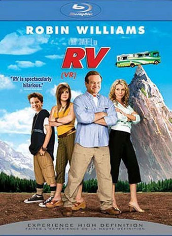 RV (blu-ray) BLU-RAY Movie