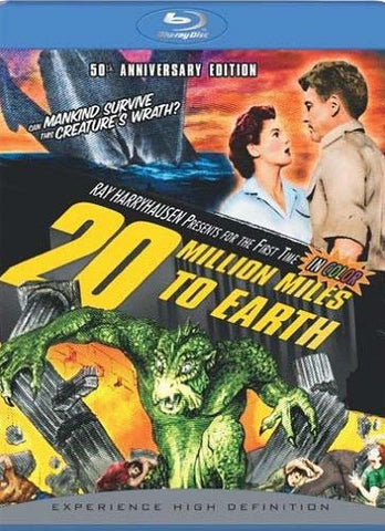 20 Million Miles To Earth (50th Anniversary Edition) (blu-ray) BLU-RAY Movie