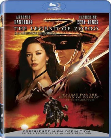 The Legend of Zorro (blu-ray) BLU-RAY Movie