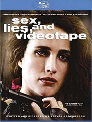 Sex, lies, and videotape (blu-ray)