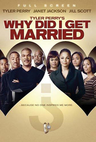 Why Did I Get Married (Tyler Perry's) (Full Screen) DVD Movie
