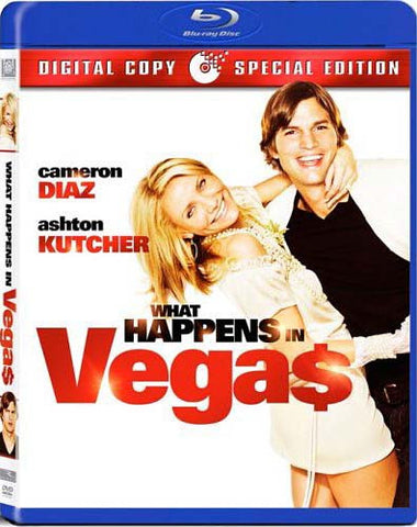 What Happens in Vegas (Blu-ray) BLU-RAY Movie