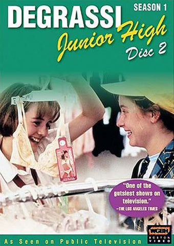 Degrassi Junior High - Season 1, Disc 2 DVD Movie