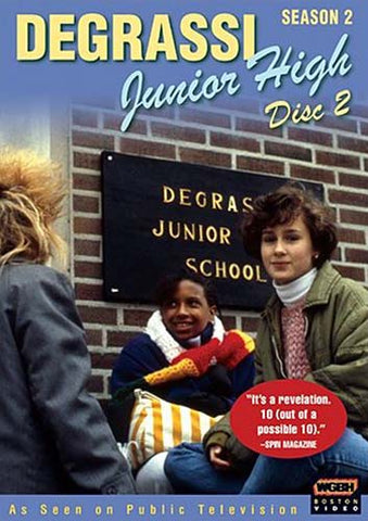 Degrassi Junior High - Season 2, Disc 2 DVD Movie