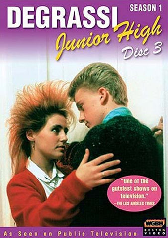 Degrassi Junior High - Season 1, Disc 3 DVD Movie