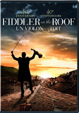 Fiddler On The Roof (40th Anniversary) DVD Movie