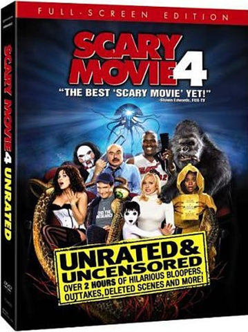 Scary Movie 4 (Unrated And Uncensored) (Full Screen Edition) DVD Movie