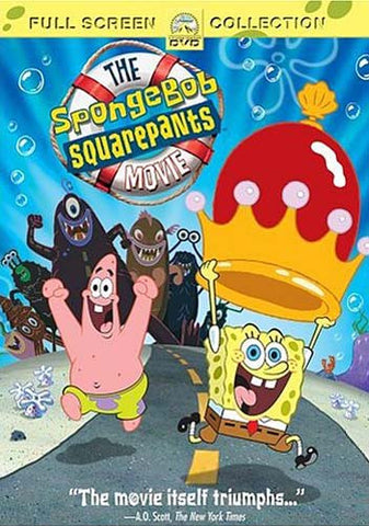 The SpongeBob SquarePants Movie - Full Screen Collection DVD Movie