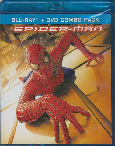 Spider-Man (DVD+Blu-ray Combo) (Blu-ray) BLU-RAY Movie
