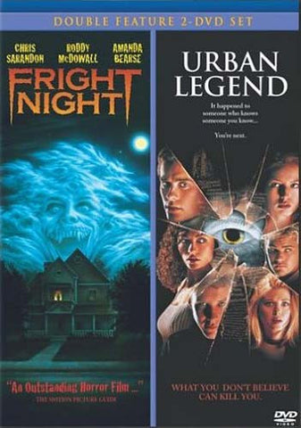 Fright Night / Urban Legend (Double Feature) DVD Movie