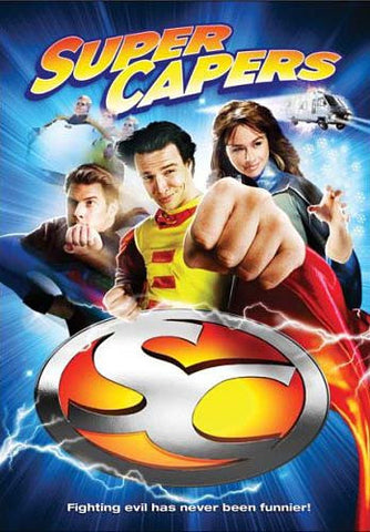 Super Capers DVD Movie