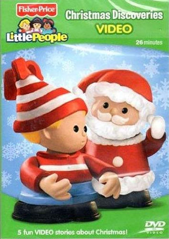 Fisher Price - Little People (Christmas Discoveries) DVD Movie