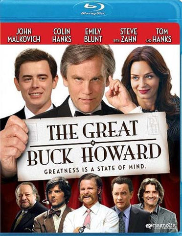 The Great Buck Howard (Blu-ray)(Limit 1 copy per client) BLU-RAY Movie