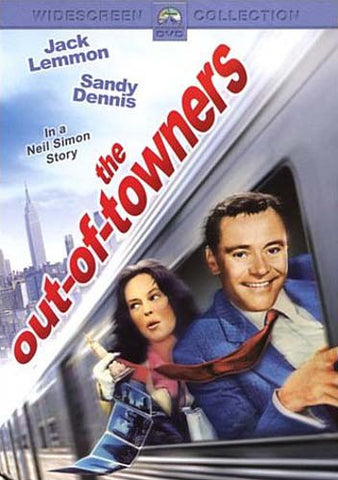 The Out-of-Towners (Jack Lemmon) DVD Movie