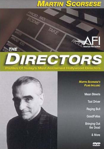 The Directors - Martin Scorsese DVD Movie