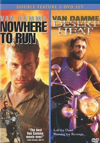 Nowhere to Run / Desert Heat (Double Feature 2-DVD Set) DVD Movie