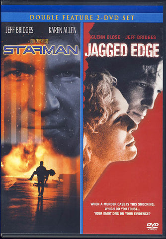 Starman / Jagged Edge (Double Feature) DVD Movie