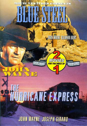 Blue Steel/The Hurrican Express (Double Feature) DVD Movie