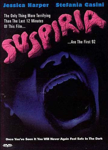 Suspiria DVD Movie