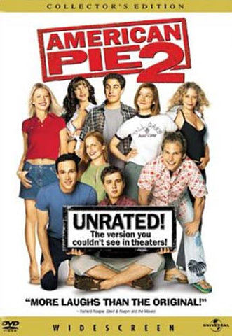 American Pie 2 - Unrated (Widescreen Collector's Edition) DVD Movie