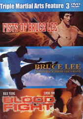 Fists Of Bruce Lee / Bruce Lee Fights Back From The Grave / Blood Fight (Boxset)