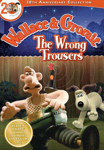 Wallace and Gromit - The Wrong Trousers (20th Anniversary Collection) DVD Movie