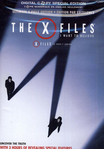 The X-Files - I Want To Believe (Ultimate X-Phile Edition) DVD Movie