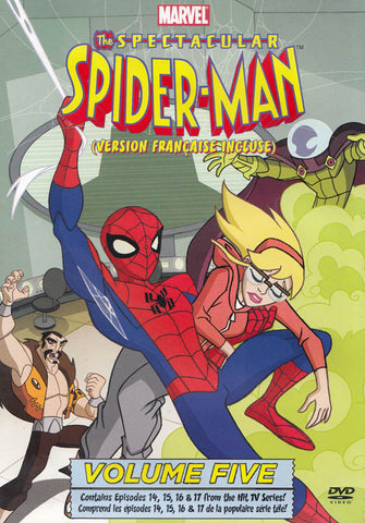 The Spectacular Spider-Man: Vol. 5 (Bilingual) DVD Movie