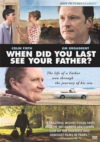When Did You Last See Your Father? DVD Movie