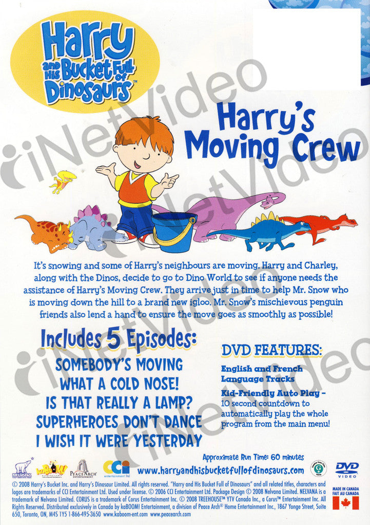 Harry And His Bucket Full Of Dinosaurs - Harry s Moving Crew on ...