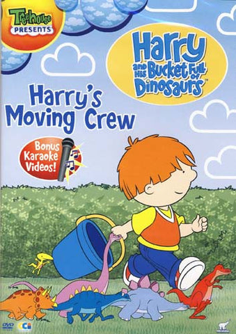 Harry And His Bucket Full Of Dinosaurs - Harry s Moving Crew DVD Movie