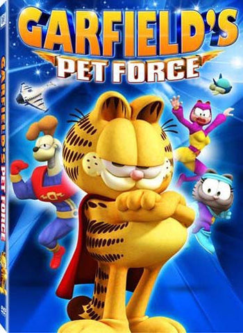 Garfield's Pet Force DVD Movie