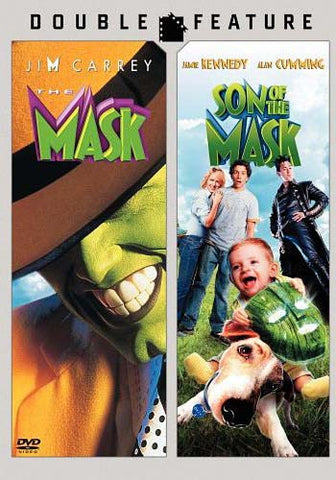 The Mask / Son Of The Mask (Double Feature) (Bilingual) DVD Movie