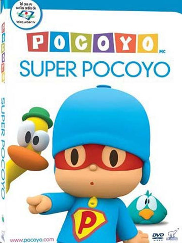Pocoyo - Super Pocoyo (French) DVD Movie