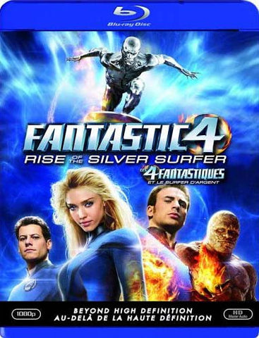Fantastic 4 - Rise of the Silver Surfer (Blu-ray) (Bilingual) BLU-RAY Movie