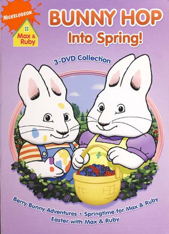Max And Ruby - Bunny Hop In To Spring (Boxset) DVD Movie