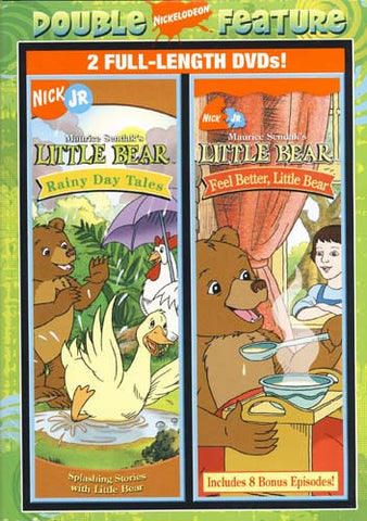 Little Bear - Rainy Day Tales/Feel Better, Little Bear (Double Feature) DVD Movie