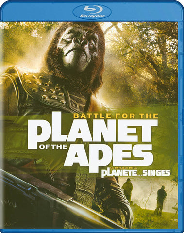 Battle For The Planet Of The Apes (Blu-ray) (Bilingual) BLU-RAY Movie