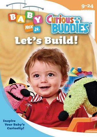 Baby Nick Jr. Curious Buddies - Let's Build DVD Movie