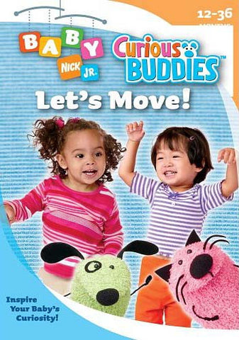 Baby Nick Jr. Curious Buddies - Let s Move DVD Movie