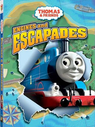 Thomas and Friends - Engines and Escapades (Bilingual) DVD Movie