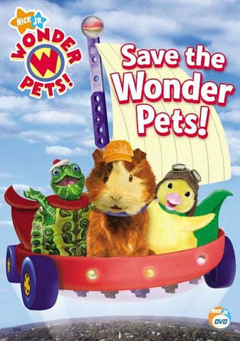 Wonder Pets - Save The Wonder Pets! DVD Movie