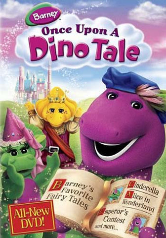 Barney - Once Upon A Dino Tale DVD Movie
