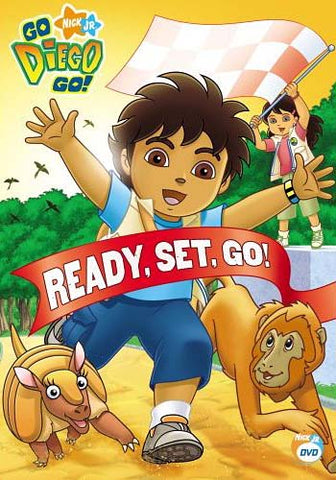 Go Diego Go! - Ready, Set, Go! (With Free Cinch Sack) DVD Movie