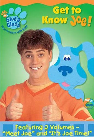 Blue's Clues - Get to Know Joe DVD Movie