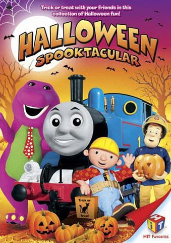 Halloween Spooktacular (Featuring: Bob the Builder, Barney, Angelina Ballerina, Fireman Sam & Thomas DVD Movie