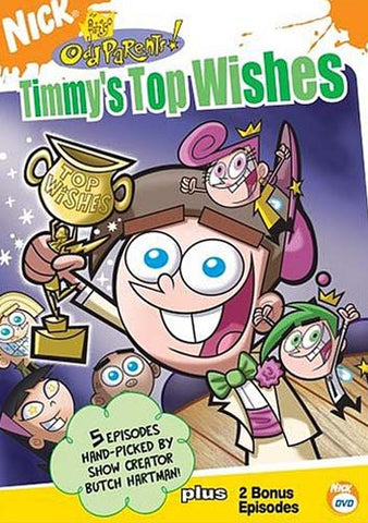 The Fairly Odd Parents - Timmy s Top Wishes DVD Movie