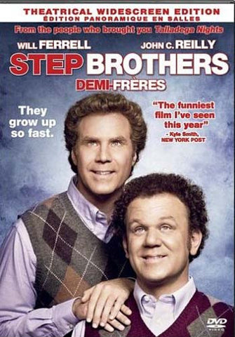 Step Brothers (Theatrical Widescreen Edition) (Bilingual) DVD Movie